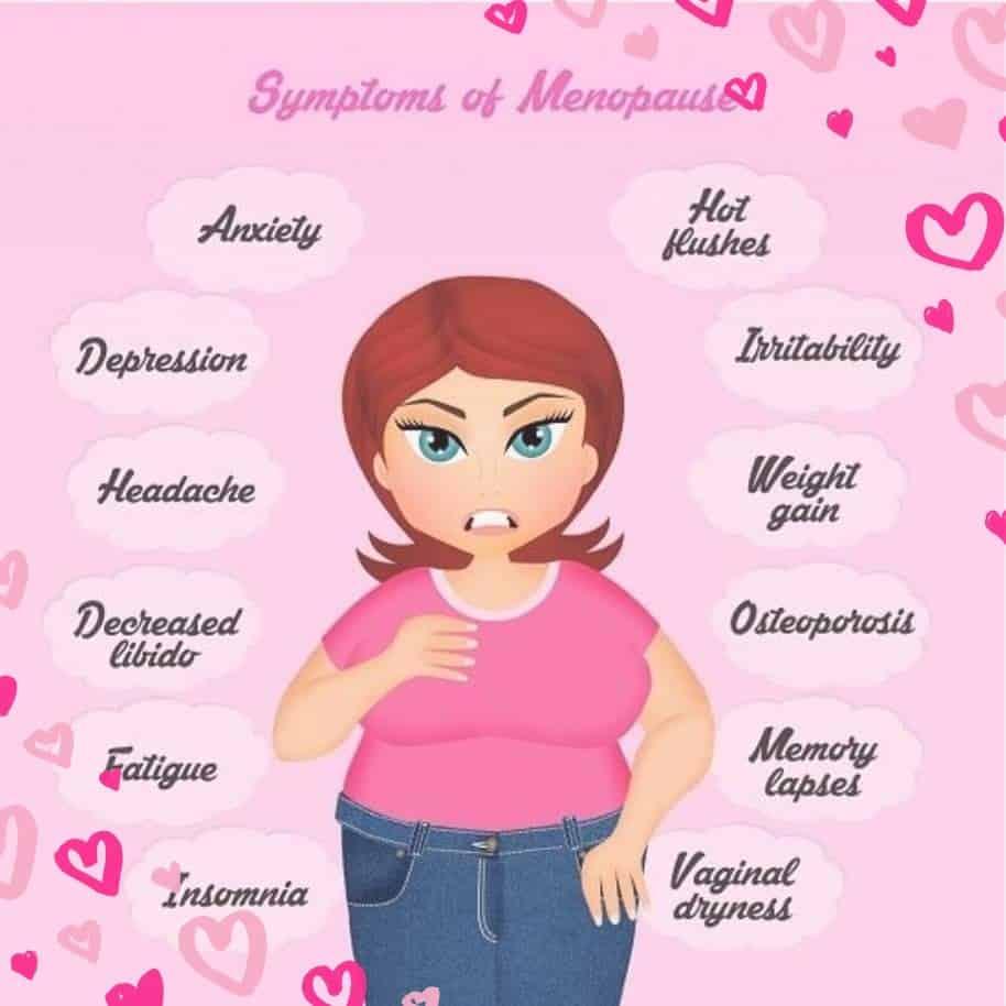 Menopausens symtom kan du motverka med optimal näring