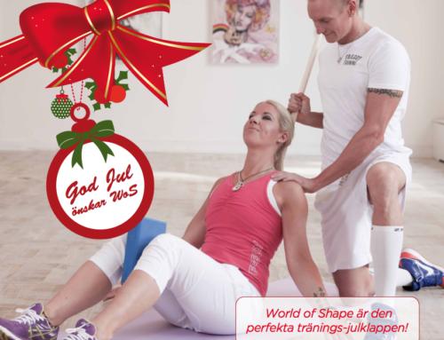 Ge bort en julklapp med härlig träning